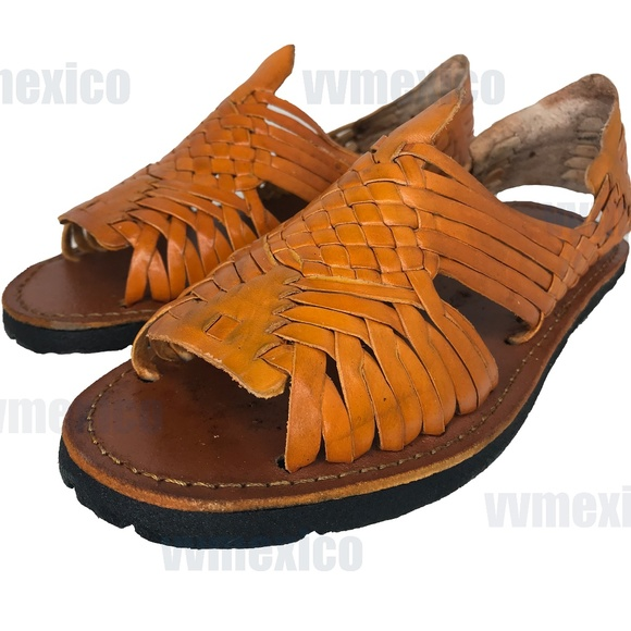 Mens Traditional Leather Huarache
